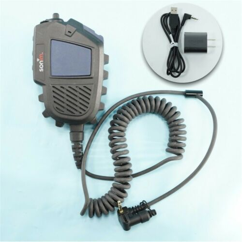 NEW Sonim C-C550 IS Remote Speaker Mic (Model: L551502-13H5180) *OPEN BOX!*
