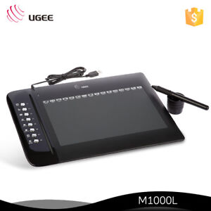 """Ugee M1000L 10"""" x 6"""" Graphics Drawing Pen Tablet"""
