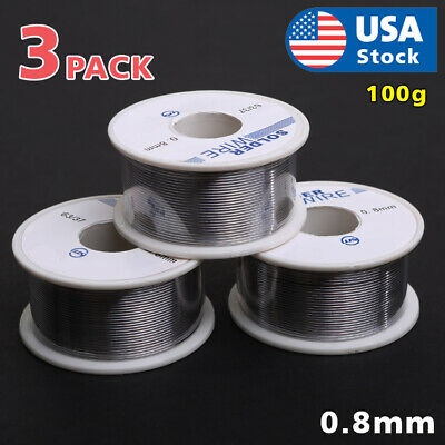 6337 Tin Lead Rosin Core Flux Solder Wire For Electrical Solderding 0.8mm 300g