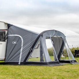 Sunncamp air 390 caravan awning