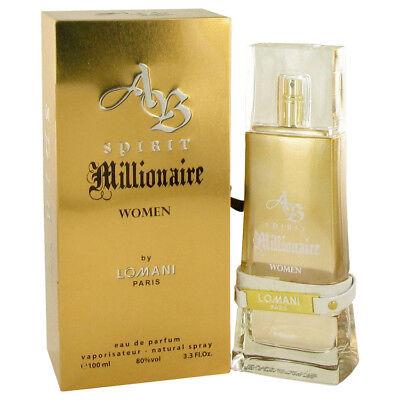 Lomani Spirit Millionaire Women 100 ml Eau de Parfum Spray ()