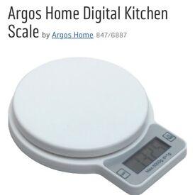 Home digital kitchen scale