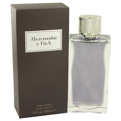 First Instinct by Abercrombie & Fitch 3.4 oz EDT Cologne for Men NIB Sealed
