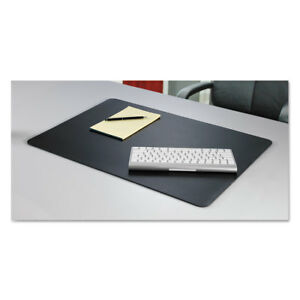 Artistic Rhinolin II Desk Pad with Microban 17 x 12 Black LT912MS