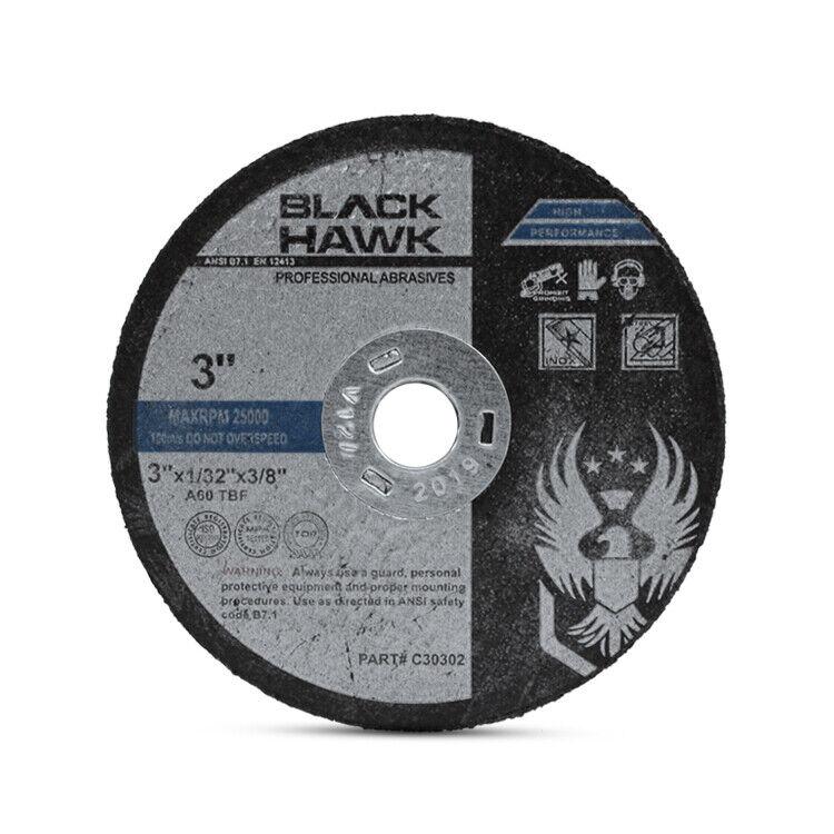"10 Pack - 3"" x 1/32"" x 3/8"" Reinforced Cut-Off Wheel Die Grinder Cutting Discs"