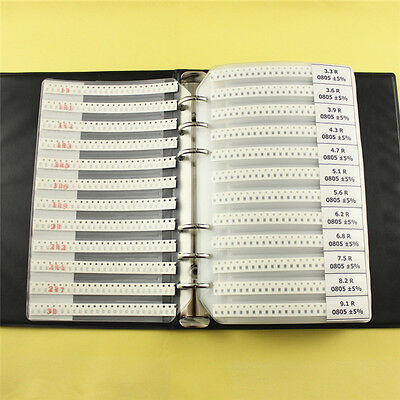 0805 Smd 170 Values Resistor And 50 Values Capacitor Assorted Kit Sample Book