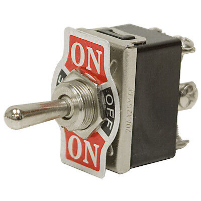 Dpdt-co 20 Amp Momentary-maintained Toggle Switch 11-3279