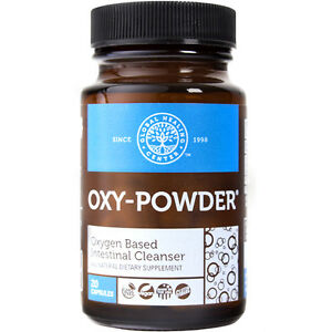 Oxy-Powder Colon Cleanse & Natural Laxative Overnight Constipation Relief 20 ct