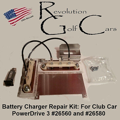 battery charger repair kit for club car powerdrive  you re almost done battery charger repair kit for club car