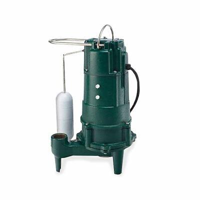 Zoeller Shark M805 34 Hp Sewage Grinder Pump Cast Iron 115 Volt 805-0001 M-805
