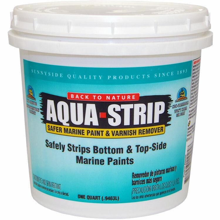 Back to Nature Aqua Strip Safer Marine Paint and Varnish Remover quart