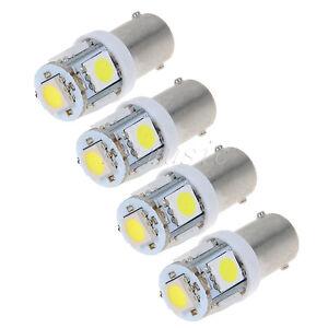 4PCS-BRIGHT-5-LED-12v-Instrument-panel-light-White
