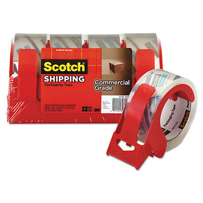 Scotch 3750 Commercial Grade Packing Tape w/Disp 1.88