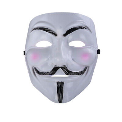 Halloween Masks V for Vendetta Mask Guy Fawkes Anonymous Fancy dress Costume](Fancy Dress For Guys)
