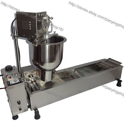 450pcsh Commercial Electric Automatic Cake Donuts Maker Doughnuts Machine Fryer