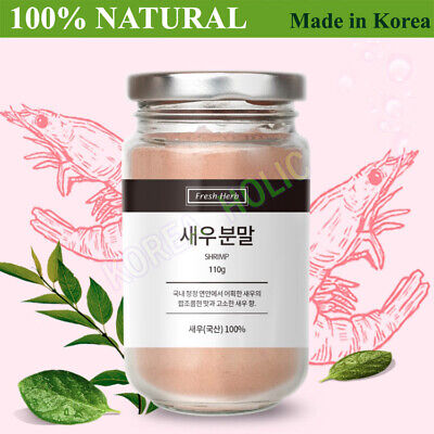 100% Natural Shrimp Powder 110g Fresh Natural Seasoning Made in korea NEW 새우분말