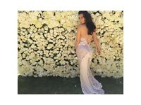 Kardashian 12ftx8t style flower wall backdrop wedding events comes with uplights