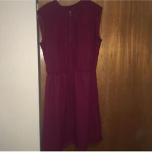 Maroon dress size large pick up only