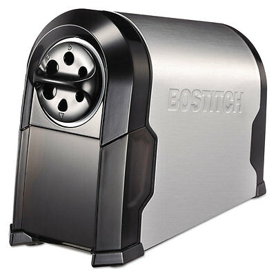 Bostitch Superpro Glow Commercial Electric Pencil Sharpener Blacksilver Eps14hc
