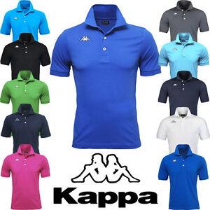 KAPPA-POLO-UOMO-T-SHIRT-PIQUET-MARE-SPORT-TENNIS-BARCA-CALCIO-15-COLORI