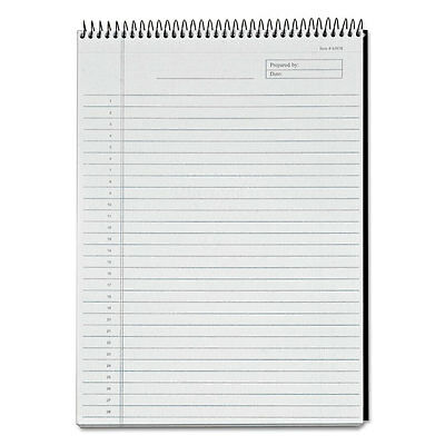 Tops Docket Diamond Top-wire Planning Pad Legalwide 8 12 X 11 34 White 60 Sh