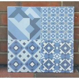 Victorian look tiles