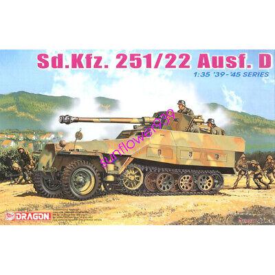 DRAGON 1/35 6248 Sd.Kfz.251/22 Ausf.D w/7.5cm PaK 40