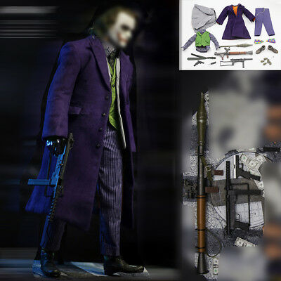 THE BEST TOYS 1/6 THE Joker The Dark Knight Clothes Suit W/ Accessories IN - The Joker Clothes Dark Knight