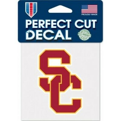 usc southern california ncaa college sticker auto car emblem decal usa made