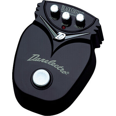 Danelectro DJ-21 Black Coffee Metal Distortion Pedal