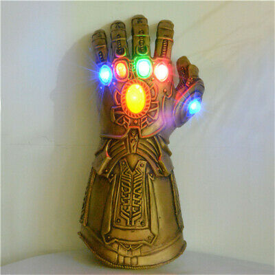 ieg Infinity Gauntlet LED Cosplay Licht Thanos Handschuhe (Led Infinity)