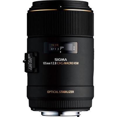 Sigma 105mm Macro F2.8 EX DG OS HSM Lens - Canon Fit