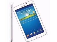 SAMSUNG GALAXY TAB 3. 7 INCH TABLET ONLY WIFI 8GB, 3 AVAILABLE