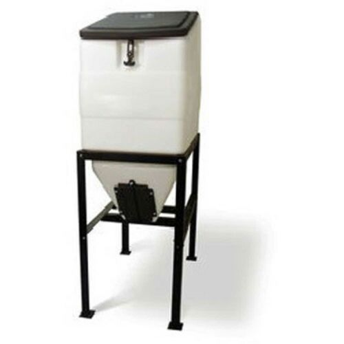 NEW! High Country Plastics Feed Bin With Stand, 270 Lbs Cap!!