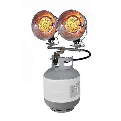 Propane Gas Space Heater Handy Clone Tank Top Air Heating Camping