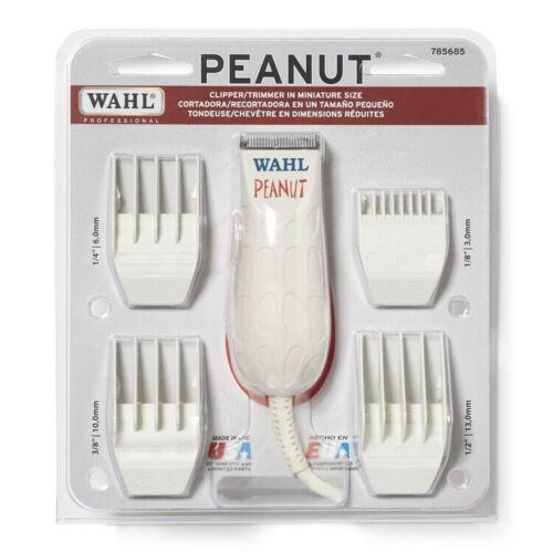 Wahl White Peanut Clipper/Trimmer