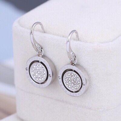 Michael Kors Flip Glitz Reversible Drop Earings - Silver