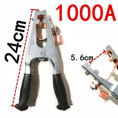 1000amp Earth Ground Cable Clip Clamp For Welding Manual Welder 240mm