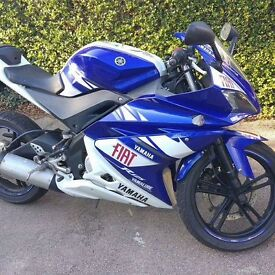 Rossi replica Yamaha YZF r125