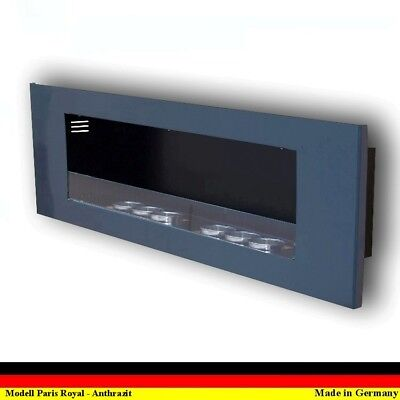 Gel and Ethanol Fire place Fireplace Cheminee Camino Paris Royal Anthracite