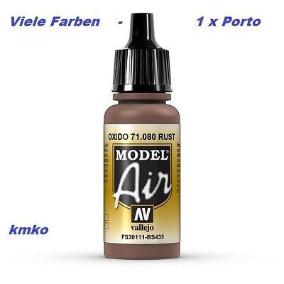 Vallejo Model Air MA 080 71080 Rost FS30111 BS435 17ml 27,06 €/100ml