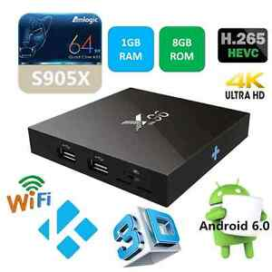ANDROID 6.0 TV BOX - X96 - KODI 17 LOADED - FREE REMOTE