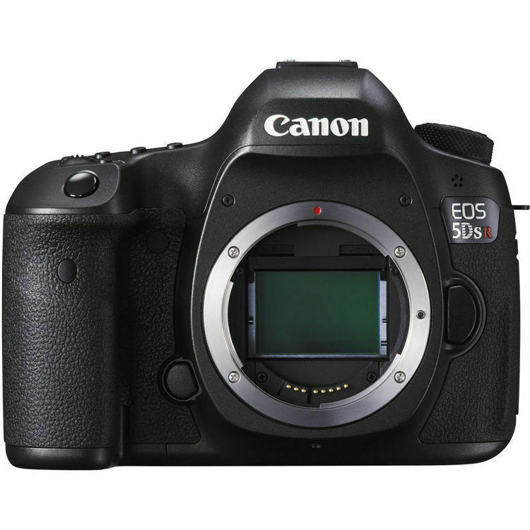 Canon EOS 5DS R DSLR Camera (Body Only) Black 0582C002