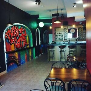 Amazing Bar for sale in the art district of hamilton
