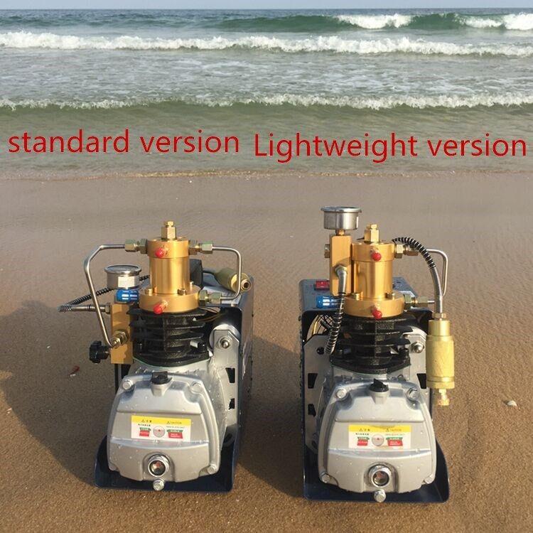 Hochdruckluftpumpe Elektrische PCP Luftkompressor 4500PSI Can Set Pressure 1.8KW