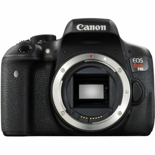 Canon EOS Rebel T6i DSLR Camera (Body Only) Black 0591C001