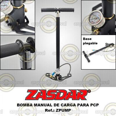 Bomba manual PCP Zasdar - Para Pistolas y Carabinas de aire comprimido...