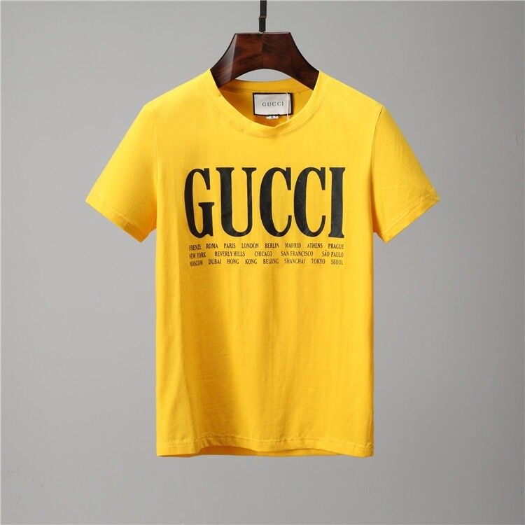 6e2e80a98ca GUCCI Printed Tee - Yellow -- SMALL MEDIUM LARGE - With tags - FREE DELIVERY
