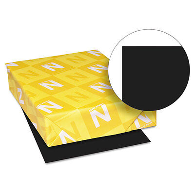 Astrobrights Colored Paper 24lb 8-12 X 11 Eclipse Black 500 Sheetsream 22321