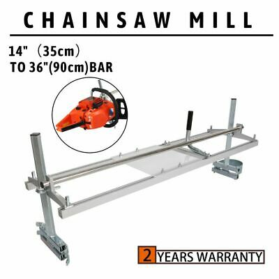 Fits 14-36 Chainsaw Guide Bar Chain Saw Mill Log Planking Lumber Portable